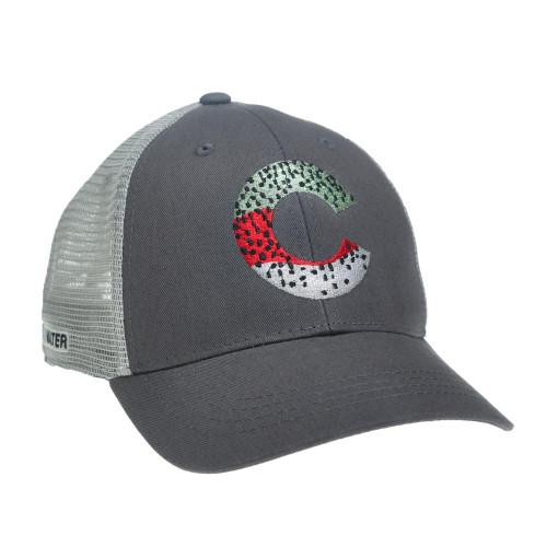 Rep Your Water Colorado Rainbow Skin Hat