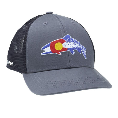 Rep Your Water Colorado Clarkii Hat Gray/Black