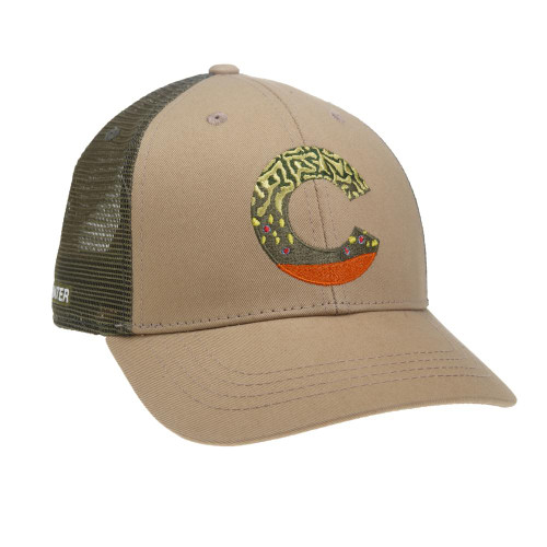 Rep Your Water Colorado Brown Trout Skin Hat