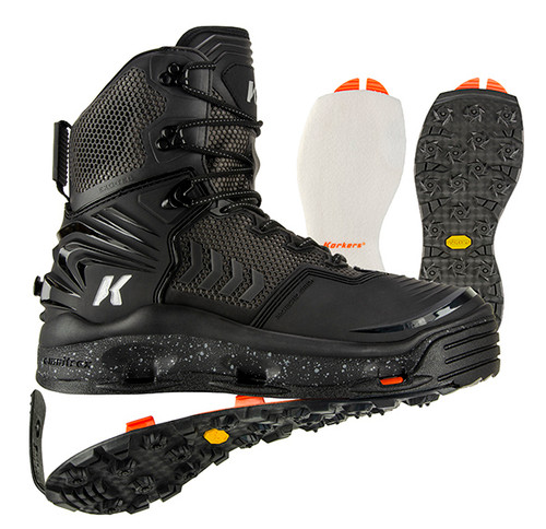 Korkers River Ops Wading Boot Kling-On & Black Felt Soles