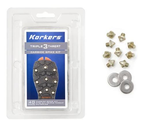 Korkers Triple Threat Carbide Spike Kit
