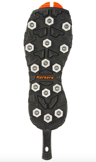 Korkers OmniTrax v3.0 Triple Threat Aluminum Bar Sole Hex Disc Sole