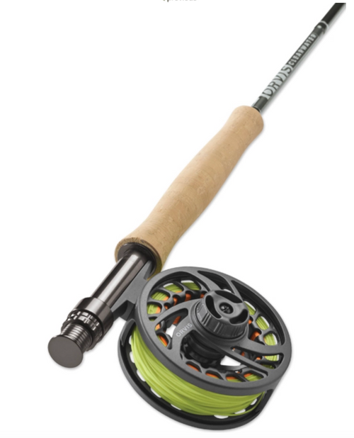 """Orvis Clearwater Fly Rod Outfit 