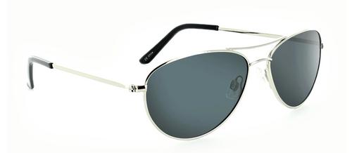 One Optic Silver Polarized Sunglasses