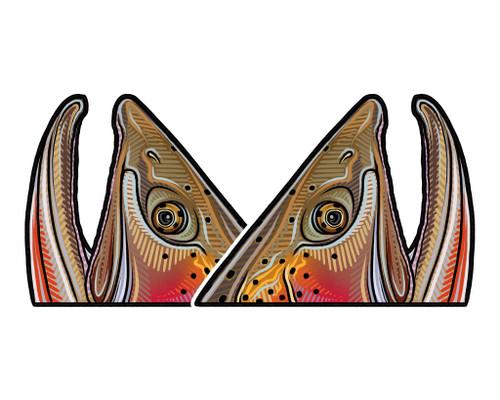 Casey Underwood Cutthroat Rise Decal Sticker