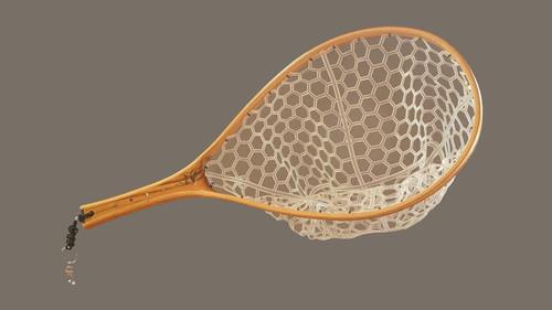 Brodin S2 Trout Purpleheart Net