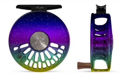 Abel TR Fly Reel - Northern Lights - 2/3 WT with Rosewood Handle