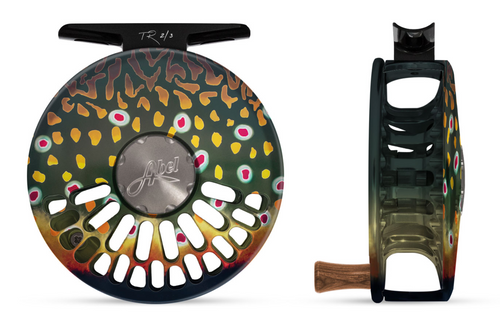 Abel TR Fly Reel - Native Brook - 2/3 WT with Rosewood Handle