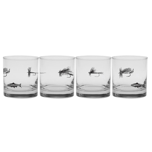 Rep Your Water Dry or Die Old Fashioned Glass
