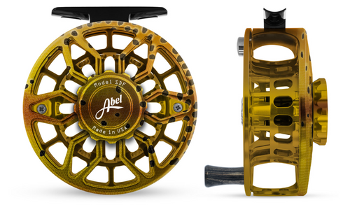 Abel SDF Fly Reel Ported - Native Cutthroat - 5/6 WT with Ebony Handle