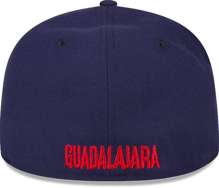GORRA CHIVAS CERRADA NAVY NEW ERA