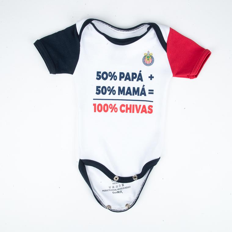PAÑALERO 100% CHIVAS BLANCO NIÑO
