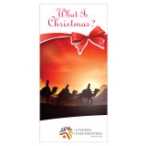 """What is Christmas?"" booklet cover"