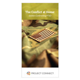 """The Conflict at Home"" booklet cover"