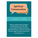 Spiritual Conversation Curve Card (Pack of 25)