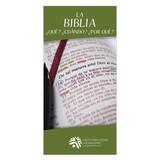 La Biblia ¿Qué? ¿Cuándo? ¿Por qué? (The Bible What? When? Why?)