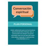 Plan personal para una conversación espiritual (Spiritual Conv Curve Card) (Pack of 25)