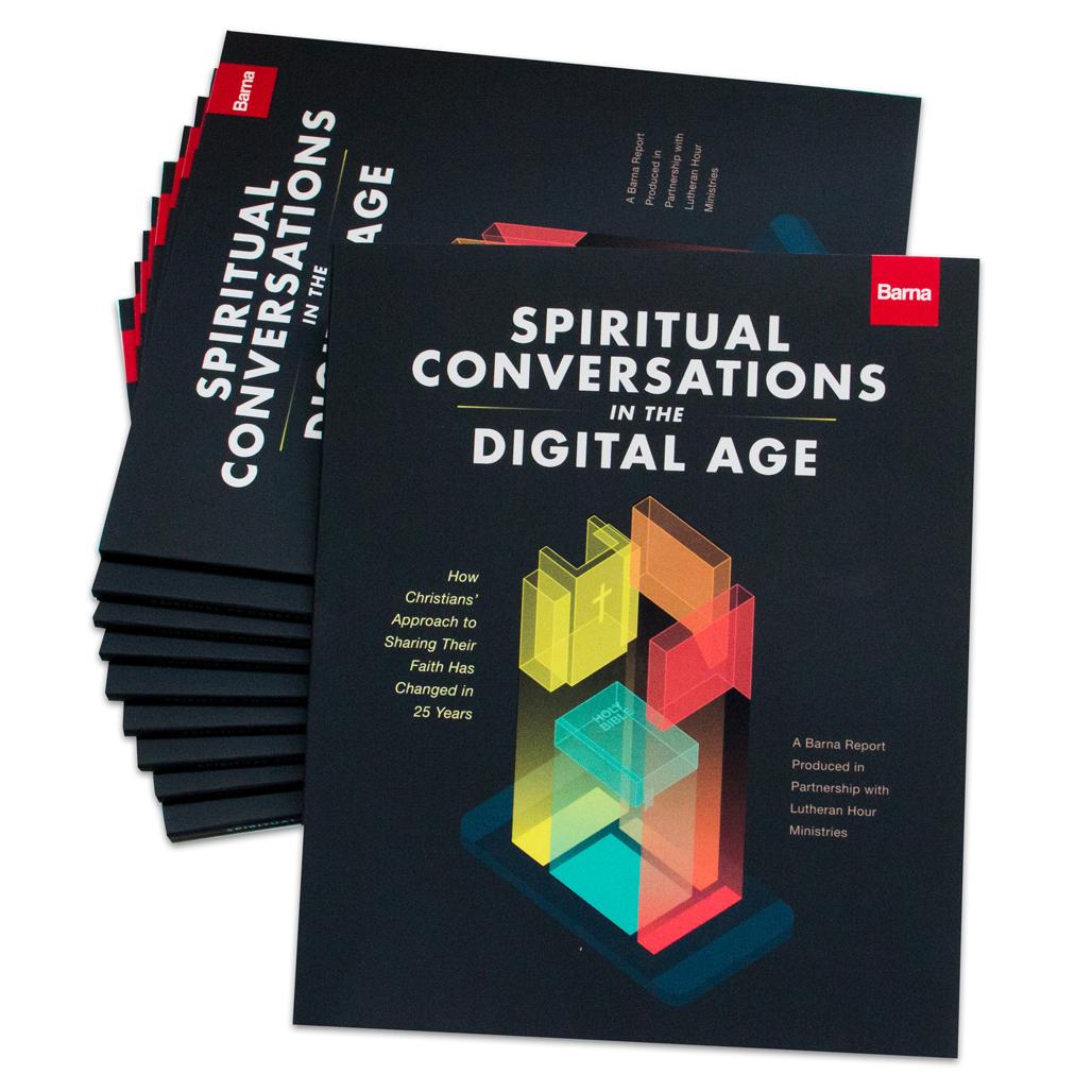 Spiritual Conversations in the Digital Age - Barna monographs (10-pack)