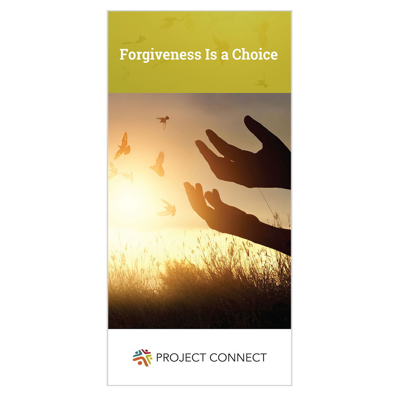 """Forgiveness is a Choice"" booklet cover"