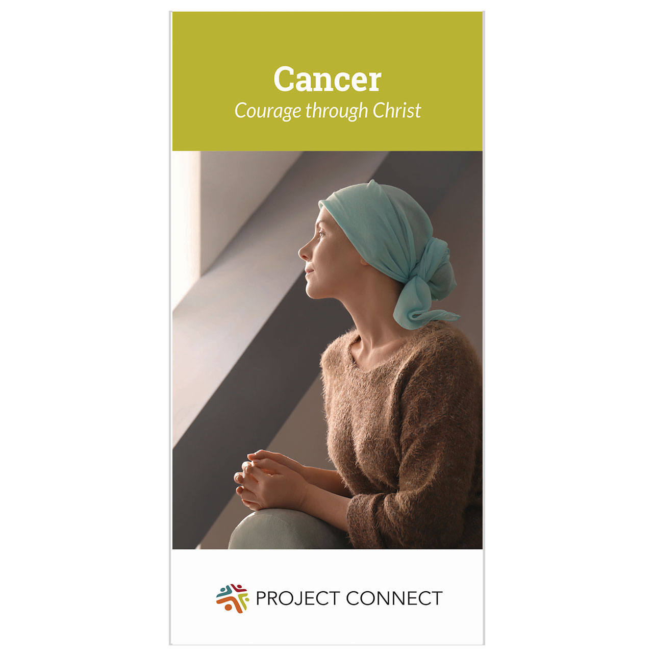"""""""Cancer: Courage Through Christ"""" booklet cover"""