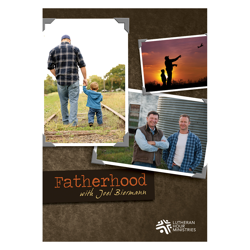 Fatherhood with Joel Biermann - Bible Study on DVD with Discussion Guide