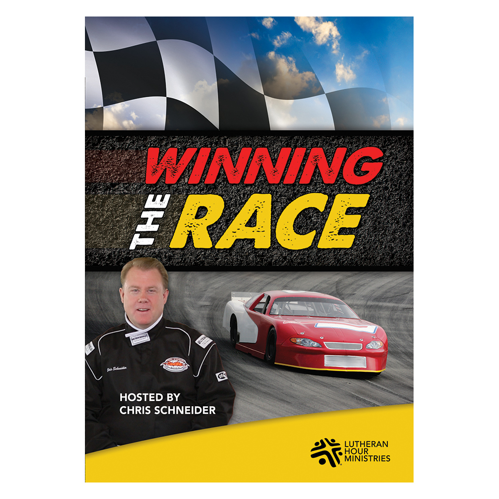 Winning The Race  - Bible Study on DVD with Discussion Guide