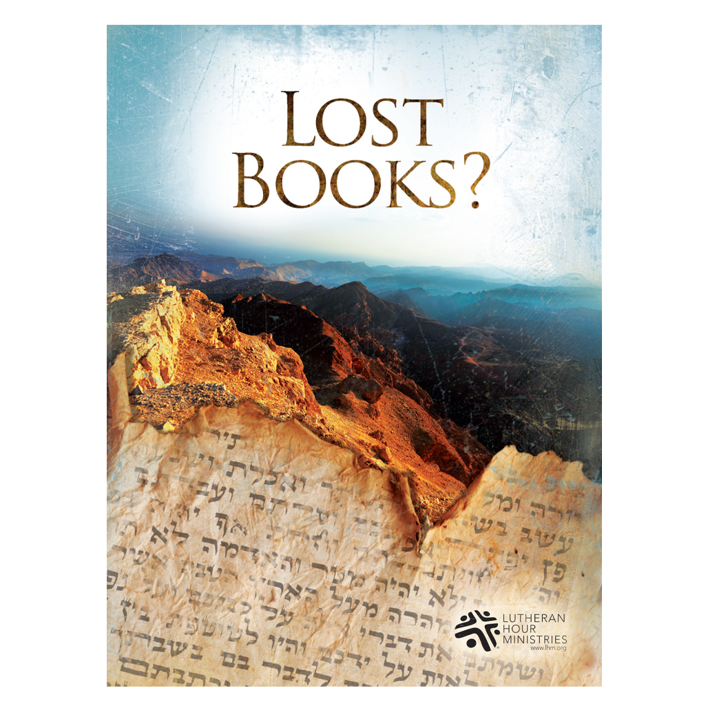 Lost Books ?  - Bible Study on DVD with Discussion Guide