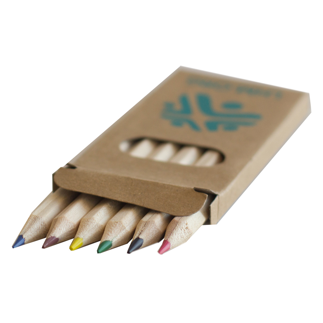 LHM Colored Pencils (1 = 25 packs of 6 colored pencils)