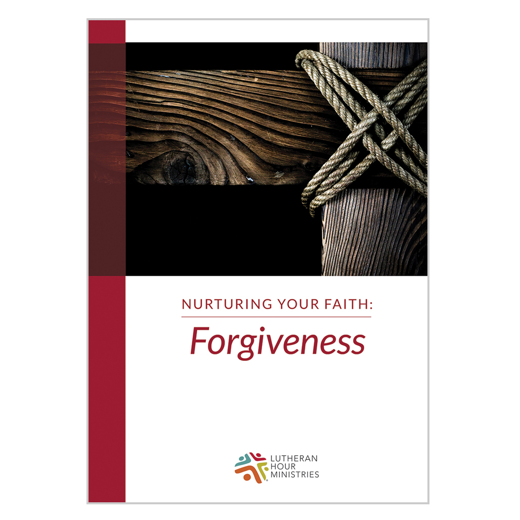 Forgiveness - Bible Study (Nurturing Your Faith) DVD with Discussion Guide