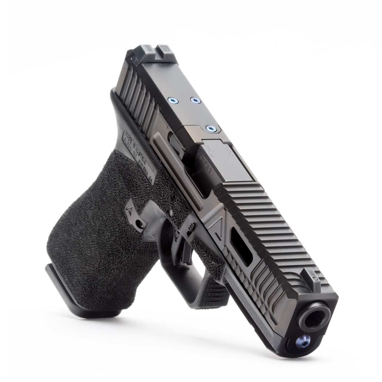 Agency Arms Glock 17 Gen3 Gavel Urban DLC, AOS, Standard Stipple