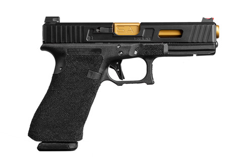Salient Arms Glock G17 Tier One TiN Gold Barrel