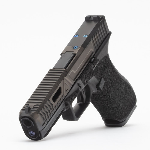 Agency Arms Glock 17 Gen5 Gavel Urban DLC, AOS, Standard Stipple