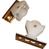CORD PULLEY FOR ROMAN OR AUSTRIAN SHADES