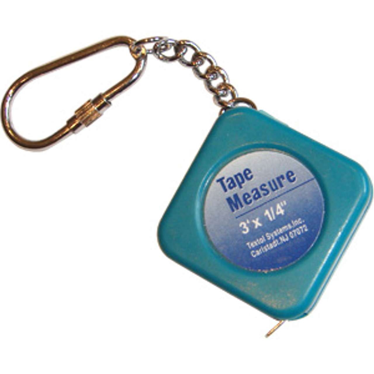 MINI TAPE MEASURE WITH KEY CHAIN, POCKET SIZED