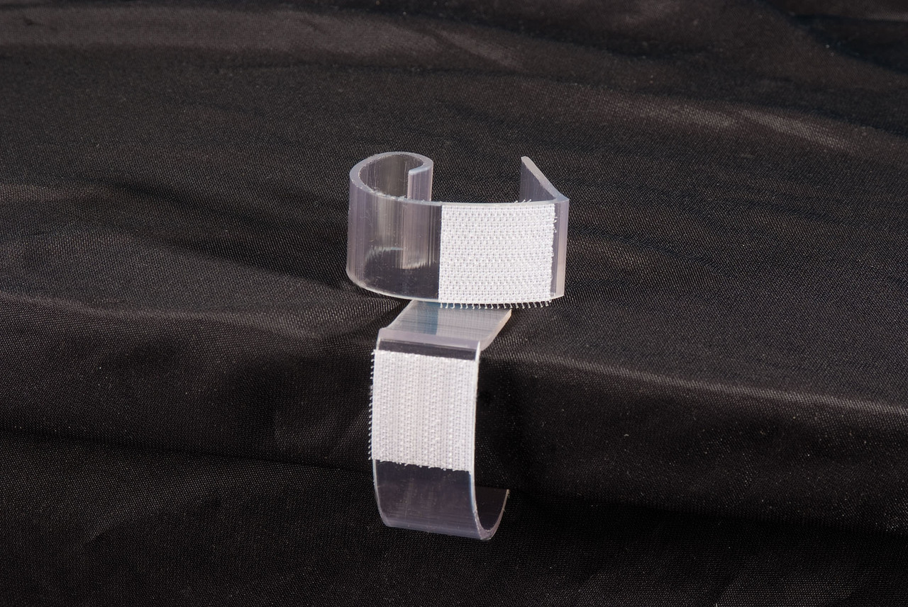"""ALL SIZE TABLE SKIRTING CLIP FITS 3/4""""-2 1/4""""  TABLES & STAGE"""