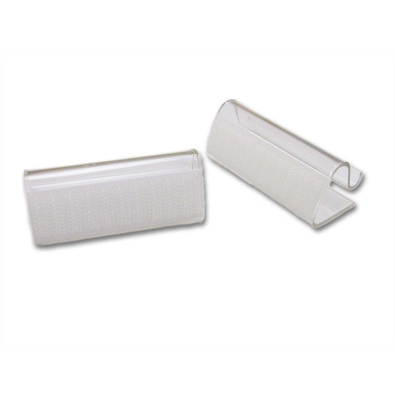 """SIMPLE TABLE SKIRTING CLIPS EASILY SLIDES ONTO  3/4""""-1"""" TABLE"""