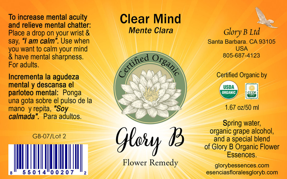 CLEAR MIND to calm your thoughts & have mental clarity