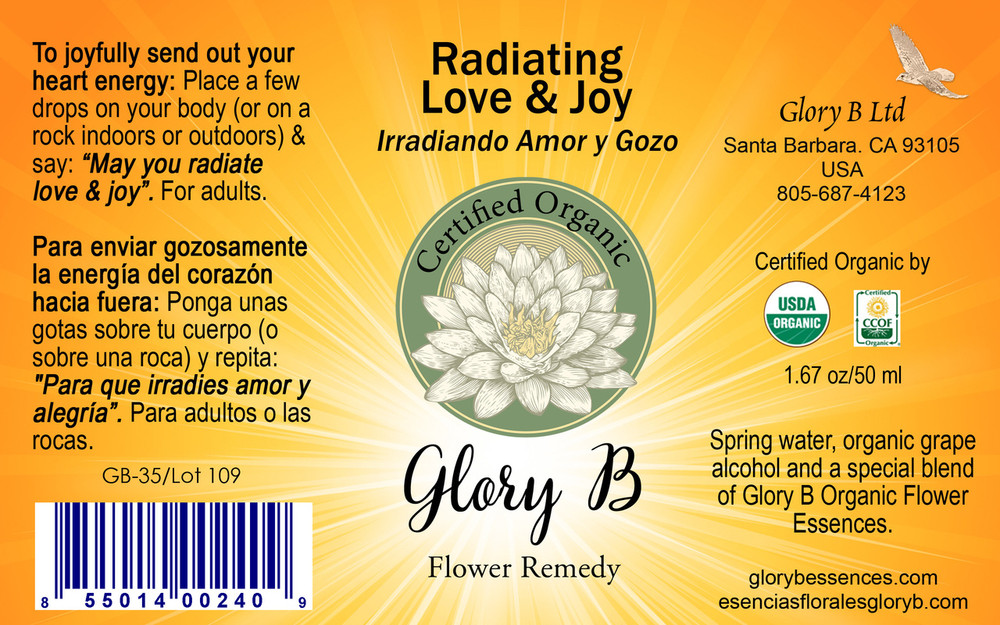 RADIATING LOVE AND JOY ....send a super glow from your heart