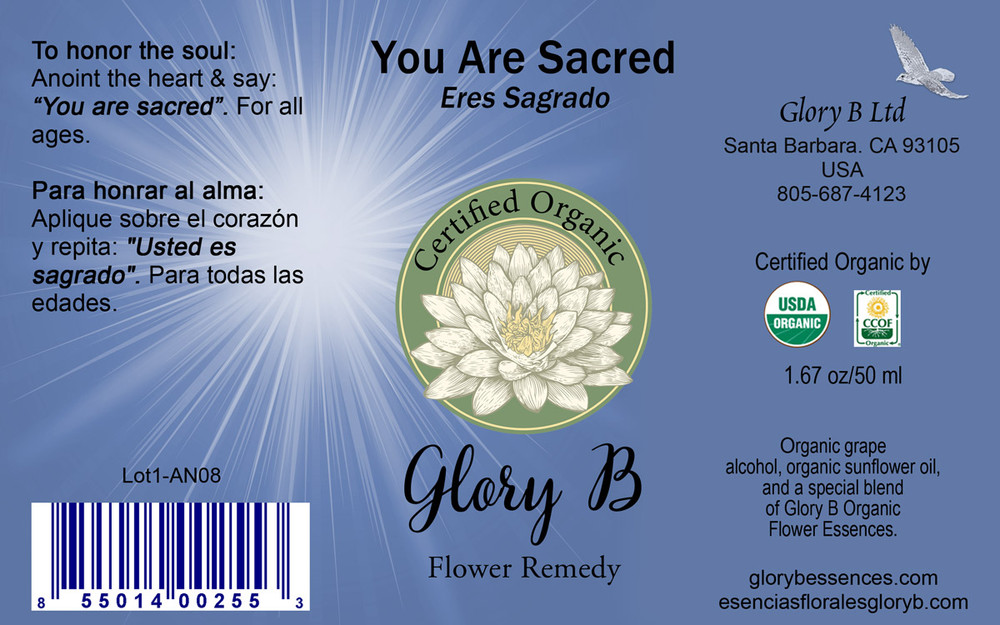 YOU  ARE  SACRED ... Anoint the heart & honor the soul