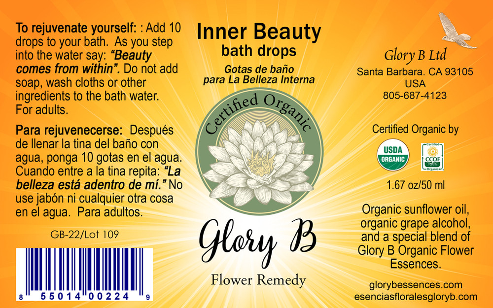 INNER BEAUTY BATH DROPS brings the sense of rejuvination