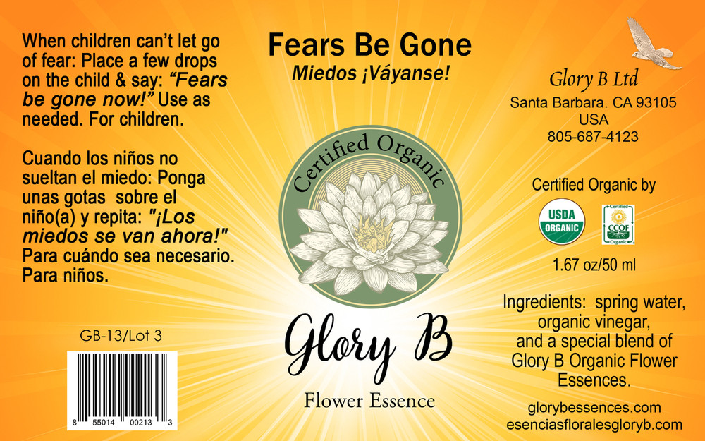 FEARS BE GONE eliminate reoccurring fears