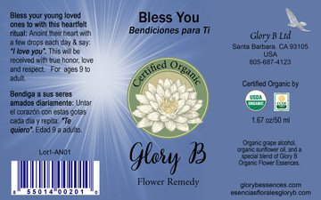 How to use 'Bless You' flower essence remedy