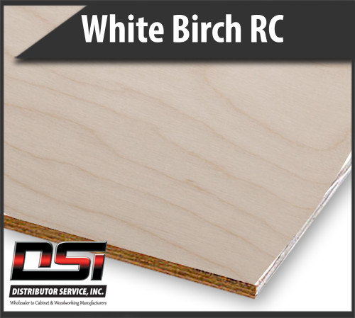 Imported White Birch Plywood Rotary Cut VC C2 WPF 12mm x 4x8