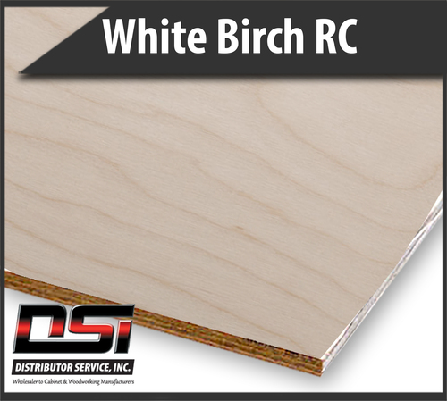 Imported White Birch Plywood Rotary Cut VC C2 WPF UV2S 12mm x 4x8