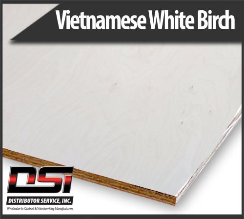 Vietnamese White Birch Plywood RC VC Cabinet Grade 18mm x 4x8