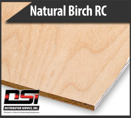 Imported Natural Birch Plywood RC VC B4 5.2mm x 4x8