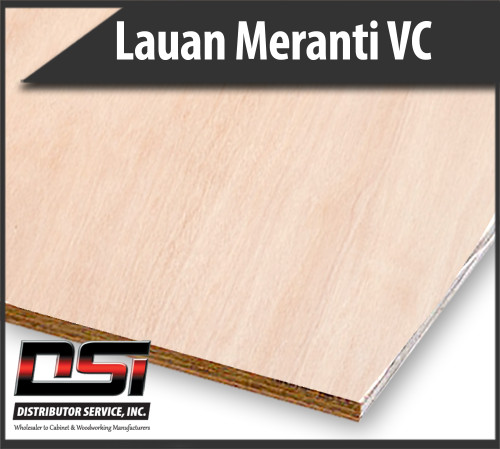 Imported Lauan Meranti Plywood VC Overlay & Better 5.2mm x 4x8