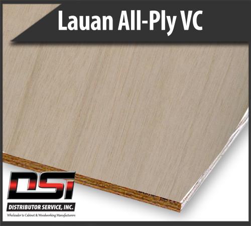 Import Lauan All-Ply Plywood VC BB/CC Ext Glue 18mm x 61 x 145
