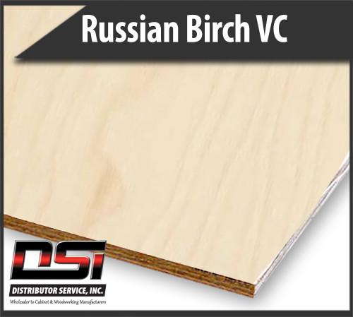 Imported Russian Birch Plywood Veneer Core BB/BB 11 Ply 15mm x 4x8