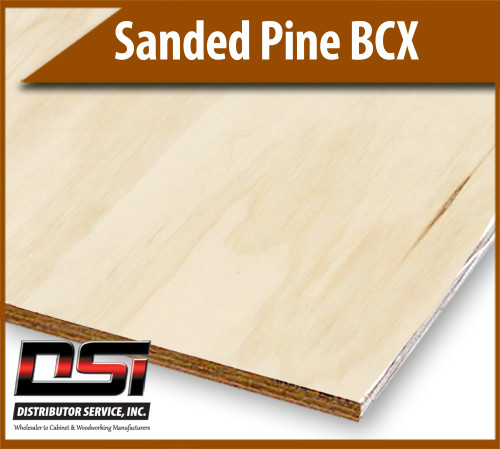 """Sanded Bessemer BCX PTS 5 Ply 1/2"""" x 4x8"""